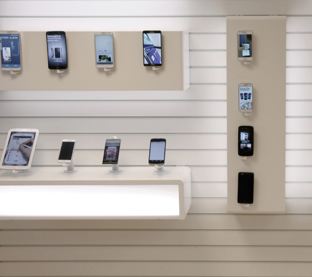 The Display wall with modules