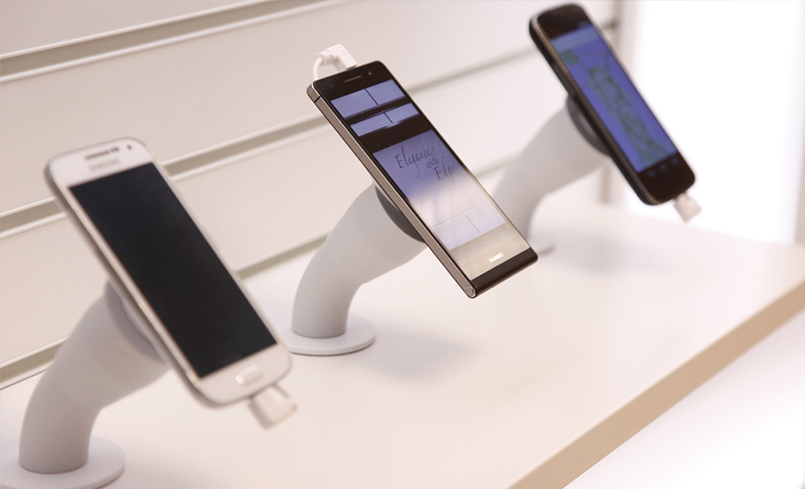 The Light Hook for vertical clean display